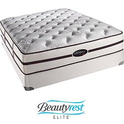 Beautyrest Elite Plato Plush Cal King-size Mattress Set