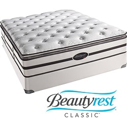 Beautyrest Classic Porter Plush Firm Pillow Top Cal King-size Mattress Set