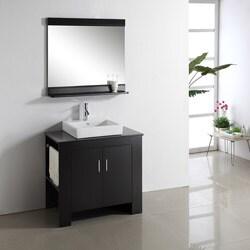 Jeffrey 36-inch Single-sink Bathroom Vanity Set