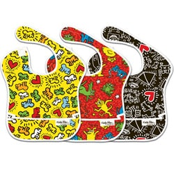 Bumkins Keith Haring Waterproof SuperBibs (Pack of 3)