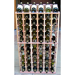 Redwood 72 Bottle Wine Display Rack