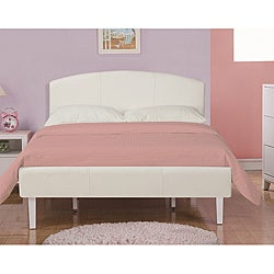 WhiteCandy Twin-size Bed