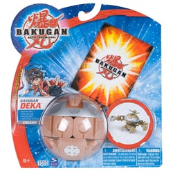 Bakugan Alpha Hydrinoid Booster Pack Toy with Paper Ability Card