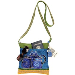 Laurel Burch Crossbody Tote 