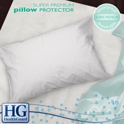 HealthGuard Bed Protector Super Premium Jumbo-size Pillow Protectors (Set of 2)