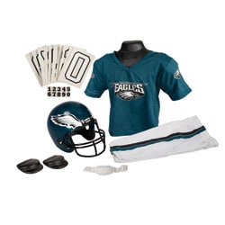 NFL Green/White Authentic-look Philadelphia Eagles Youth Uniform Set