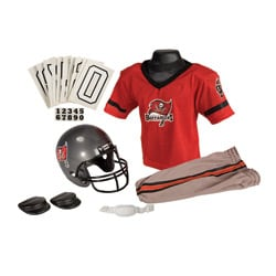 NFL Tampa Bay Buccaneers Polyester Multicolor Youth Uniform Set