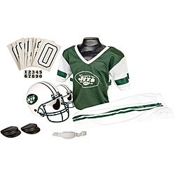 NFL New York Jets Complete Youth Uniform Set (for Ages 4 to 9)