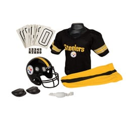 NFL Pittsburgh Steelers Youth Dress-up Polyester Uniform Set
