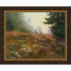 Elizabeth Mowry 'Septembers Wild Asters' Framed Print