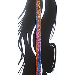 Bling Strands 'Sizzling Rainbow' Hair Tinsel Fibers