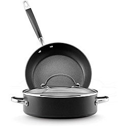 Anolon Advanced 3-piece Cookware Set