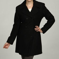 Trendz Women's Black Coat