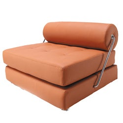 Boden Modern Convertible Leatherette Chair/ Daybed