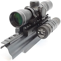 NCStar Liberator Combo 4x30 Compact Rifle Scope and Green Laser