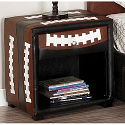 Furniture of America Football-themed Designed Nightstand