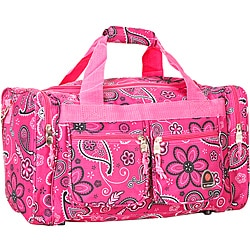 Rockland Bel-Air Pink Bandana 19-inch Carry-on Tote/ Duffel Bag