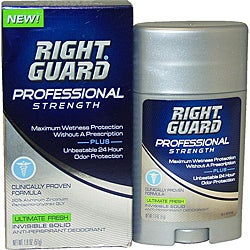 Right Guard 'Ultimate Fresh' Men's Professional Strength 1.8-ounce Invisible Solid Anti-Perspirant