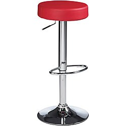 Sunpan Paris 30-inch Metal Red Barstool