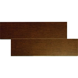 Woodstone Mahogany 6x24-inch Porcelain Tiles (Case of 16)