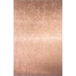 Hand-tufted Manhattan Ombre Khaki Wool Rug (8'0 x 11'0)