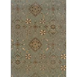 Hayworth Blue/Grey Area Rug (6'7 x 9'6)