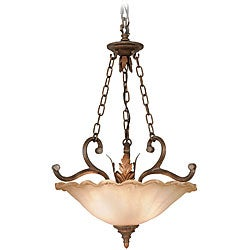 Woodbridge Lighting Elegante 2-light Gothic Bronze Pendant Light