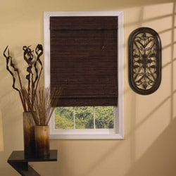 Tahiti Cocoa Roman Shade (46 in. x 64 in.)