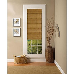 Taos Natural Roman Shade (27 in. x 72 in.)