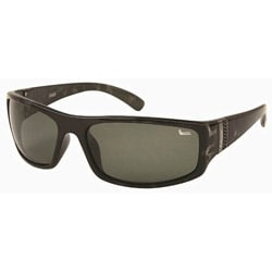Coleman Men's CC1 Black Tortoise Shell Polarized Sunglasses