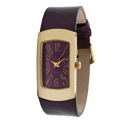 Viva Women's Purple Dial Watch