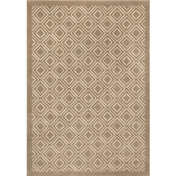 Miramar Grey and Ivory Area Rug (3'10 x 5'5)