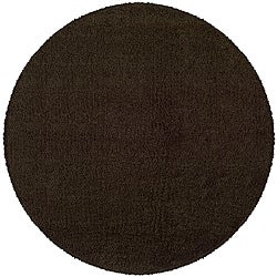 Manhattan Brown Area Rug (6' Round)