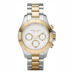 Michael Kors Women's Two-tone Stainless Steel Chronograph Watch
