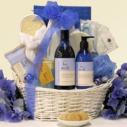 Be Well Lavender Vanilla Spa Pleasures Bath & Body Spa Gift Basket