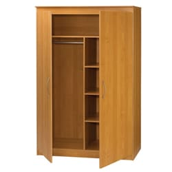 Black & Decker Alder Multipurpose 2-door Wardrobe Storage
