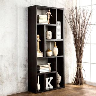 Furniture of America Multi-Purpose 3-in-1 Display Cabinet/ TV Stand/ Bookcase