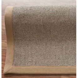 nuLOOM Handmade Texture Bergen Jute Rug (5' x 8')