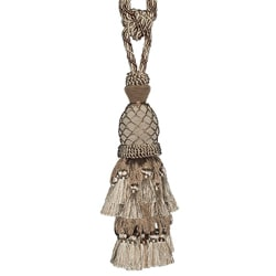 Beige/ Cream Designer Tassel Tiebacks (Set of 2)