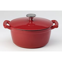 Sabatier Red Enamel 3.5-qt Dutch Oven