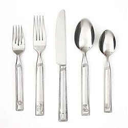 Cambridge Silversmiths Happy Trails Sand 20-piece Flatware Set