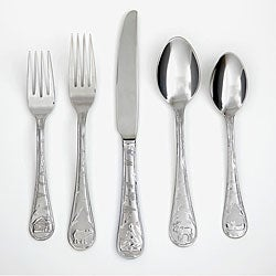 Cambridge Silversmiths Lodge Frost 20-piece Flatware Set