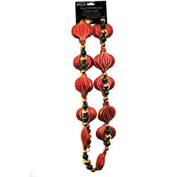 Good Tidings 8-foot Regal Bead Garland