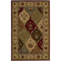 Nourison Hand-tufted Caspian Multicolor Wool Rug (8' x 10'6)
