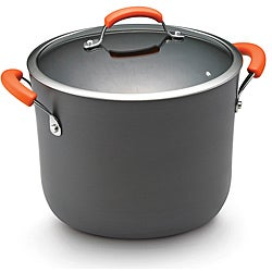Rachael Ray II Hard Anodized Nonstick Dishwasher Safe 10-Quart Covered Stockpot