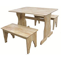 Natural Juvenile 2-bench Table