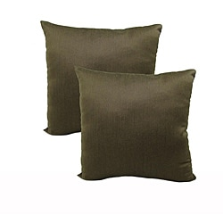 Shadow 18-inch Throw Pillows (Set of 2)