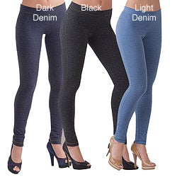 Illusion Women&#39;s Cotton Ankle-length Jeggings