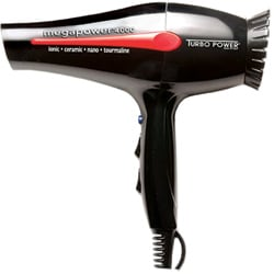 Turbo Power Black Mega Power 4000 Professional Hair Dryer