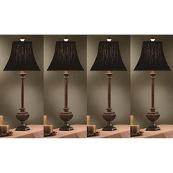Dawson 31-inch Table Lamps (Set of 4)